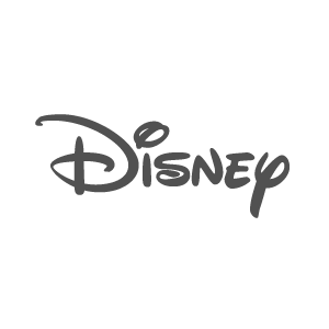 Logo for entertainment media company Disney